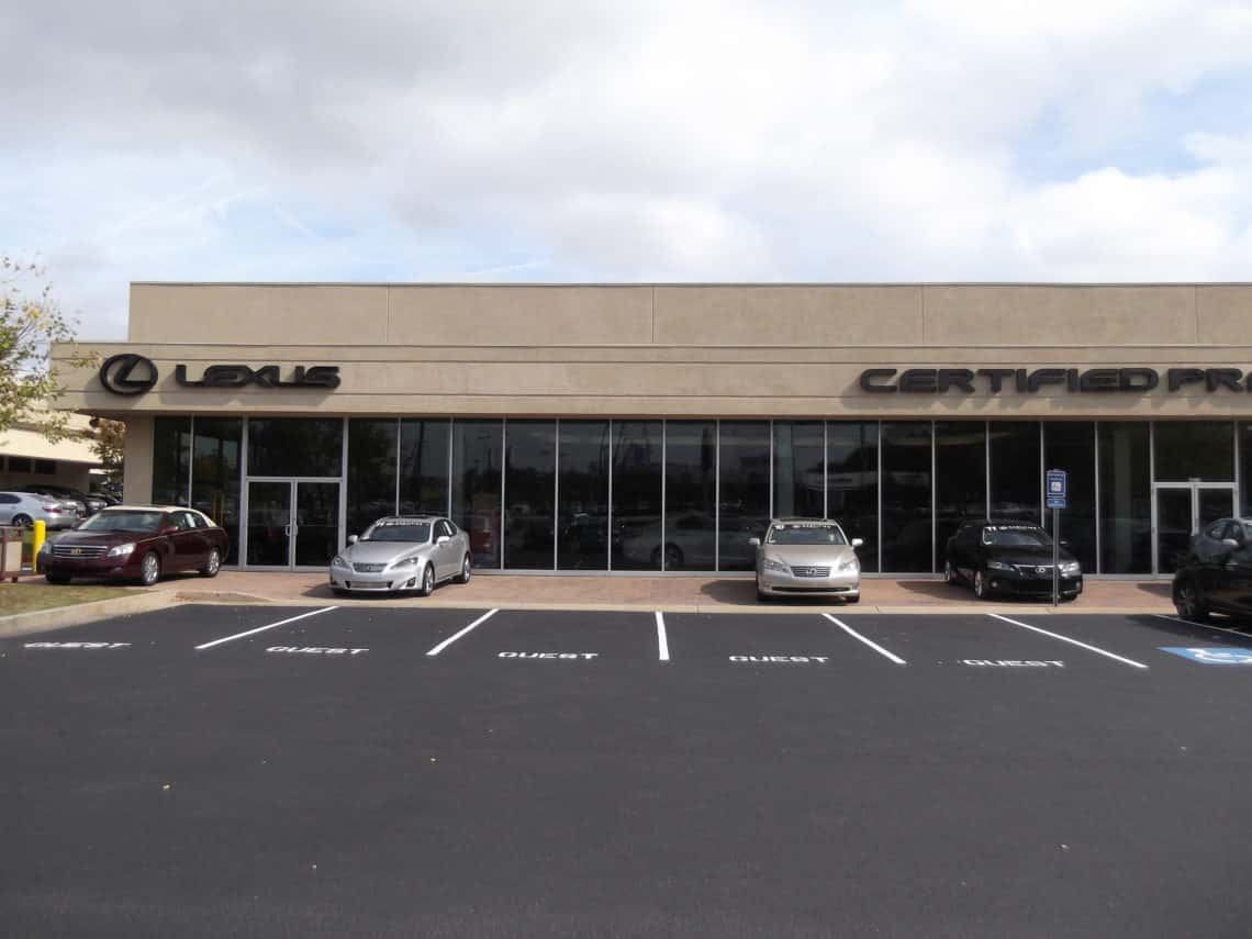 Lexus Of South Atlanta >> Lexus Of South Atlanta Curry Contracting Asphalt Paving Atlanta